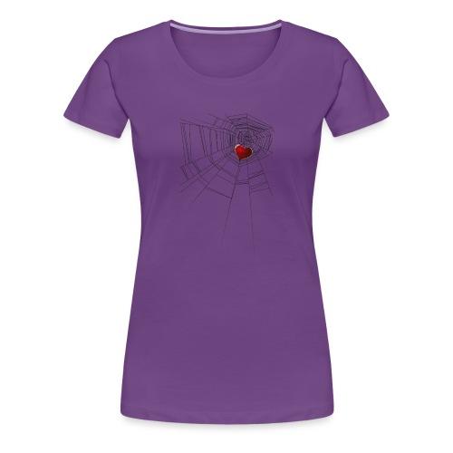trappola_del_cuore - Maglietta Premium da donna