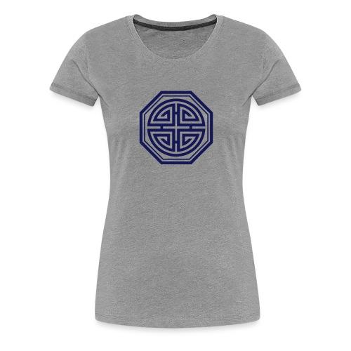 Four blessings, Chinesisches Glücks Symbol, Segen - Frauen Premium T-Shirt