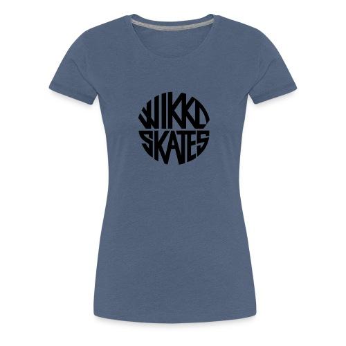 wikkoskates logo vektori - Women's Premium T-Shirt