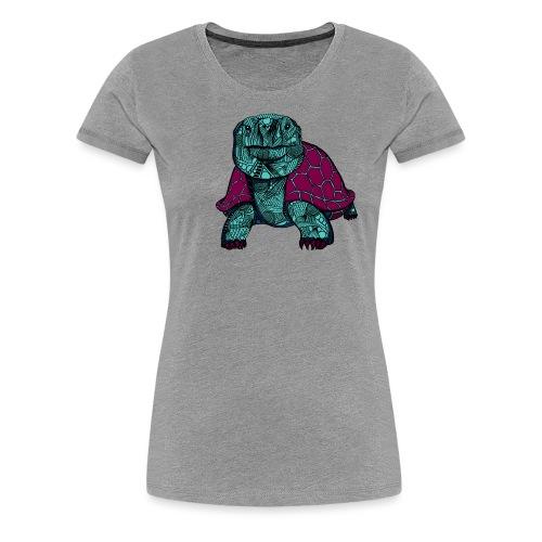 Galapagos Skilpadde - Premium T-skjorte for kvinner