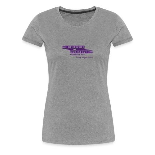 DMF Logo Osnabrück - Frauen Premium T-Shirt