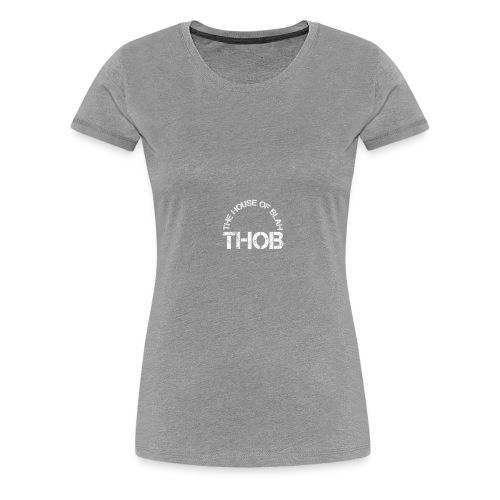 THOB WHITE - Maglietta Premium da donna