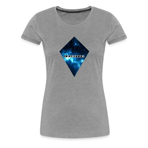 BLUE UNIVERSUM - Frauen Premium T-Shirt
