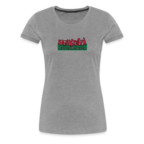 stammeslogo finale nachbearbeitete versi - Frauen Premium T-Shirt
