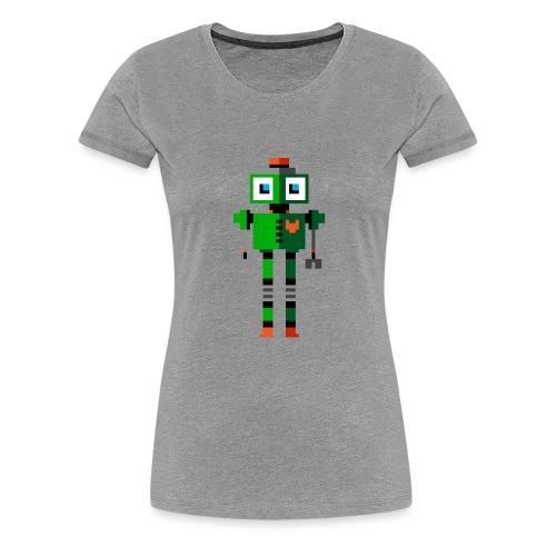 Green Robot - Women's Premium T-Shirt