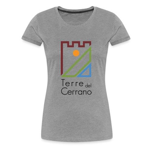 Logo Terre del Cerrano - Maglietta Premium da donna