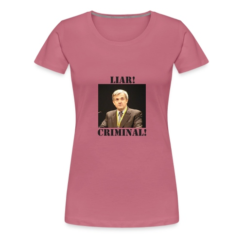 huhne - Women's Premium T-Shirt