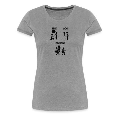 4 - Maglietta Premium da donna