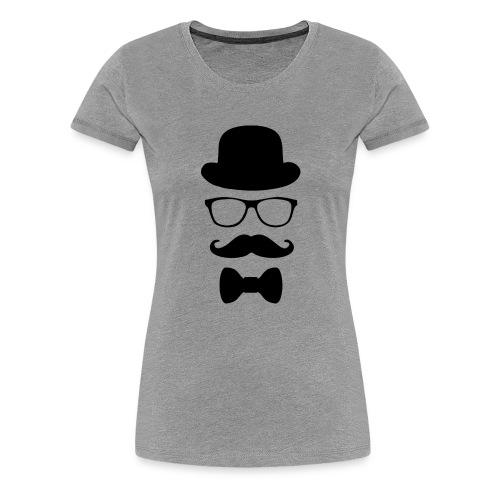 Mann mit Krawatte. - Frauen Premium T-Shirt