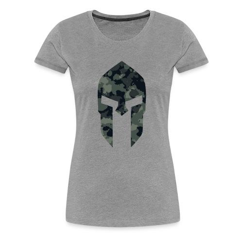 Sparta military pattern 1 - Frauen Premium T-Shirt