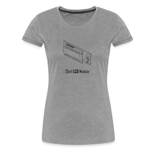 20x4 LCD Module - Women's Premium T-Shirt