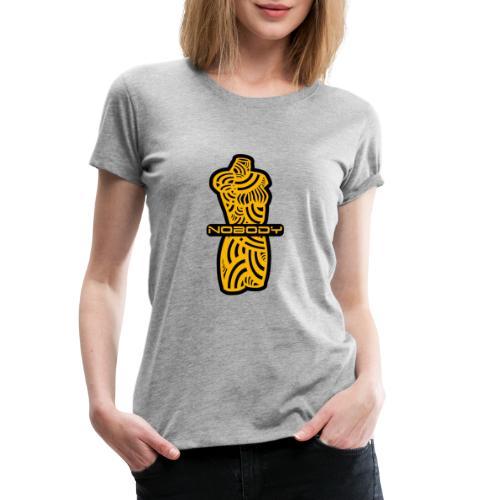 NIEMAND YELLOW - Frauen Premium T-Shirt