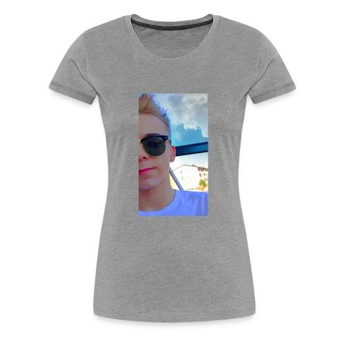Robin - Premium-T-shirt dam