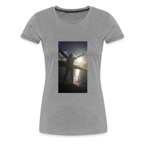 Solnedgangen - Premium T-skjorte for kvinner