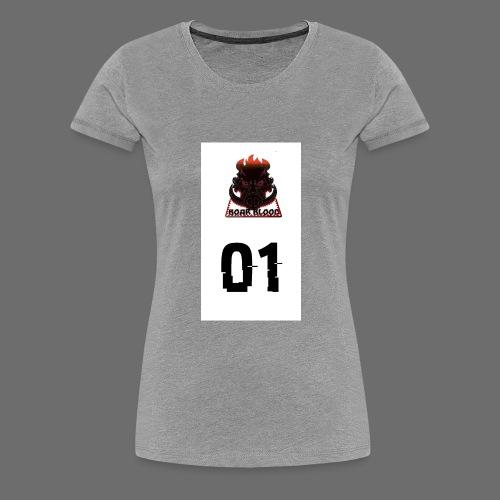 Boar blood 01 - Koszulka damska Premium