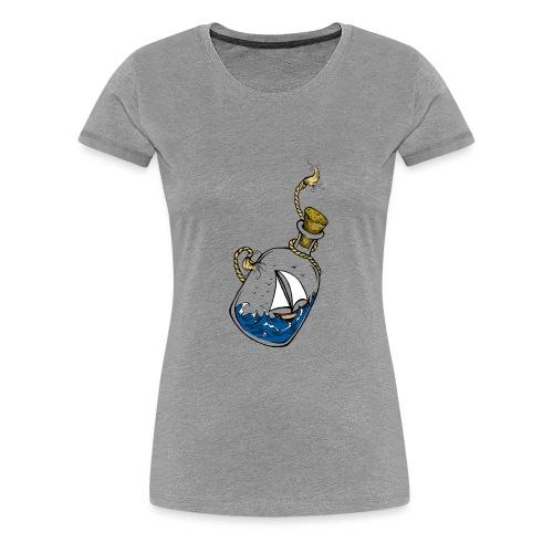 bouteille à la mer - T-shirt Premium Femme