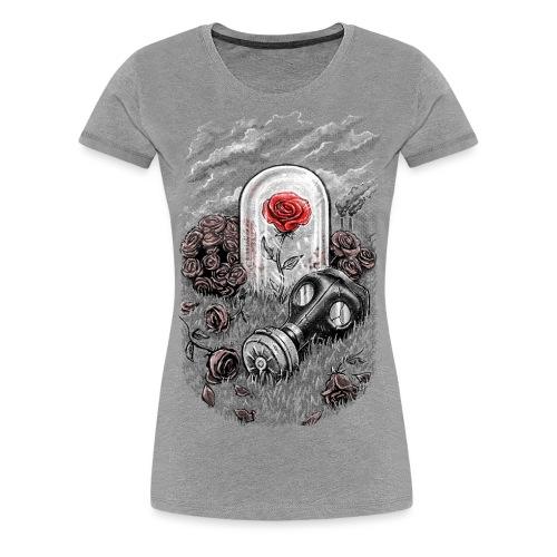 The Last Flower On Earth - Women's Premium T-Shirt