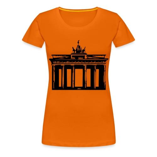 Brandenburger Tor - Frauen Premium T-Shirt