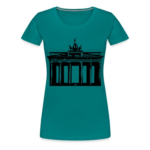 Brandenburger Tor - Frauen Premium T-Shirt