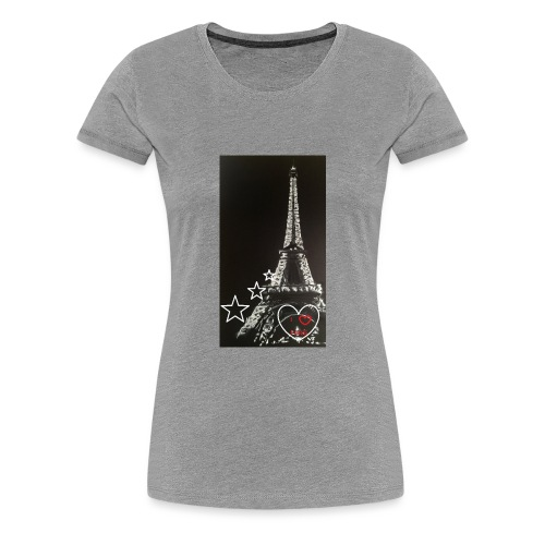 Tour eiffel - T-shirt Premium Femme