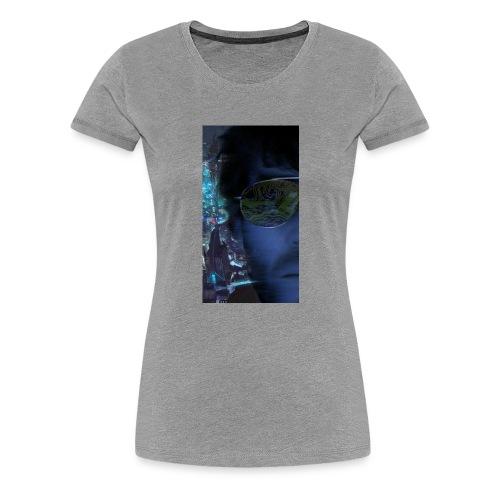Cyberpunk - Fly verkligheten med en T-shirt - Premium-T-shirt dam