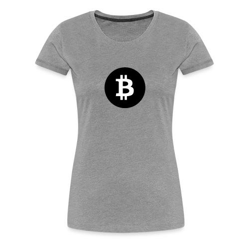 Biitcoin Shirt Design - Frauen Premium T-Shirt