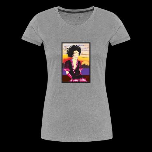 Lil Curl - Women's Premium T-Shirt