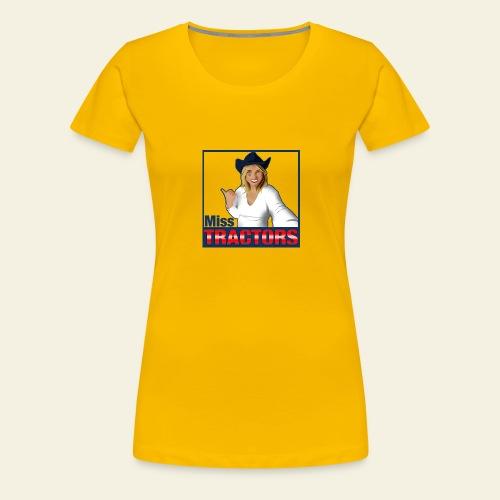 Miss Tractors Logo - Maglietta Premium da donna