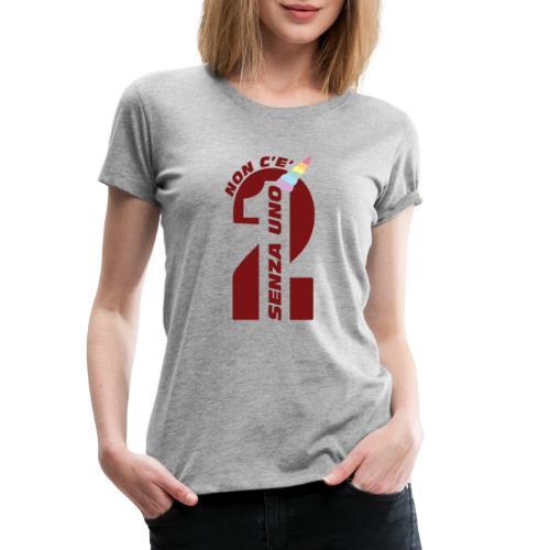 Logo nonceduesenzauno - Maglietta Premium da donna