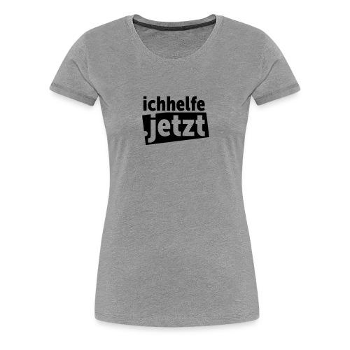 ichhelfe.jetzt - Frauen Premium T-Shirt