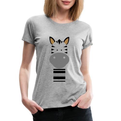 Cute Zebra - Women's Premium T-Shirt