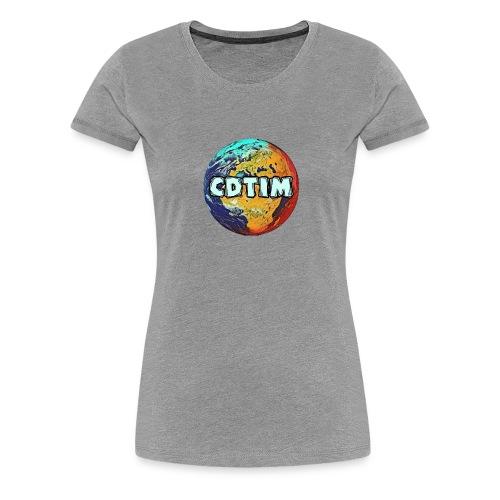 Cdtim - Maglietta Premium da donna