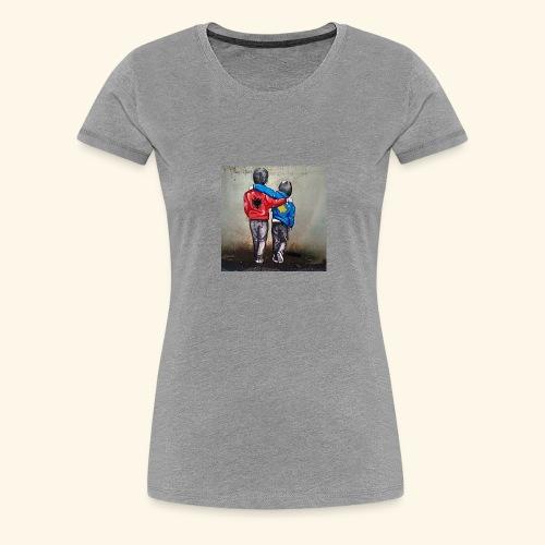 Albanien und Kosovo - Frauen Premium T-Shirt