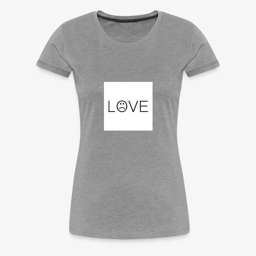 love - Koszulka damska Premium