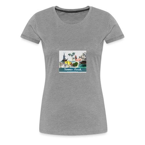 summerbj - Women's Premium T-Shirt