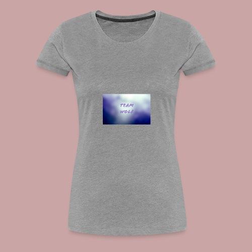 Team Wolf Box - Women's Premium T-Shirt