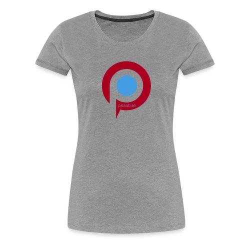 Pictab - Premium-T-shirt dam