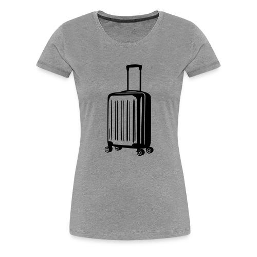 valise vectoriel - T-shirt Premium Femme