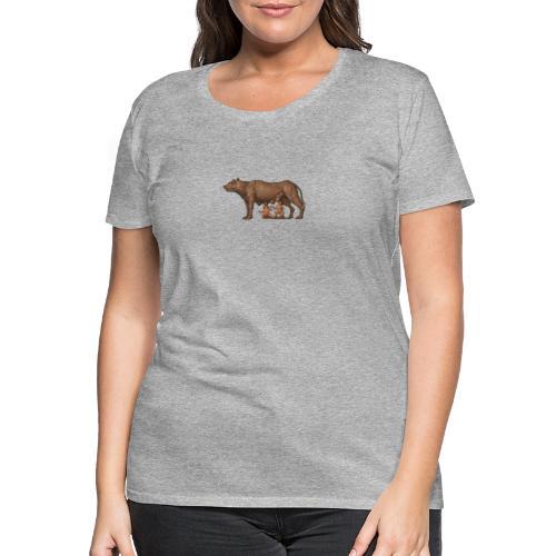 Wilczyca kapitolińska | Capitoline Wol - Koszulka damska Premium