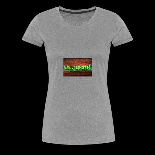 Lil Justin - Women's Premium T-Shirt
