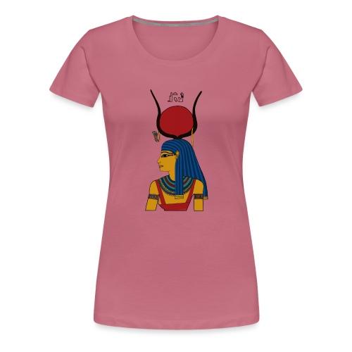 Isis - altägyptische Göttin - Frauen Premium T-Shirt