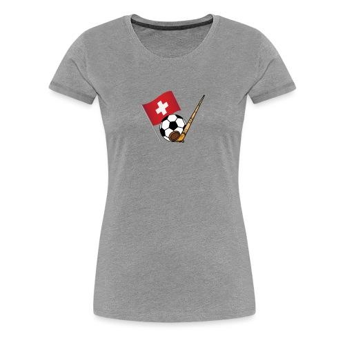 Schweiz Fussballmannschaft - Frauen Premium T-Shirt