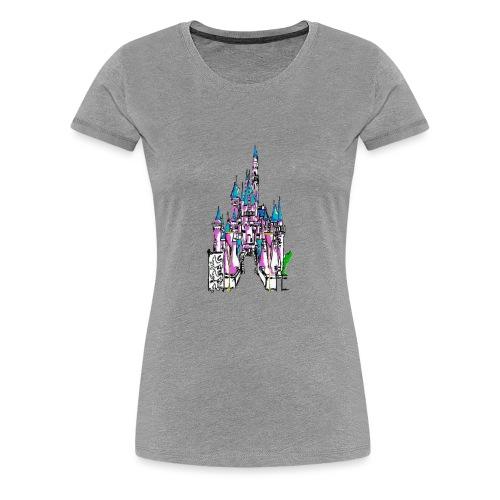 Fairy Tale Castle - Women's Premium T-Shirt