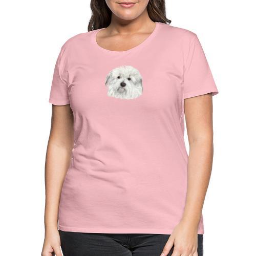 coton-de-tulear - Dame premium T-shirt