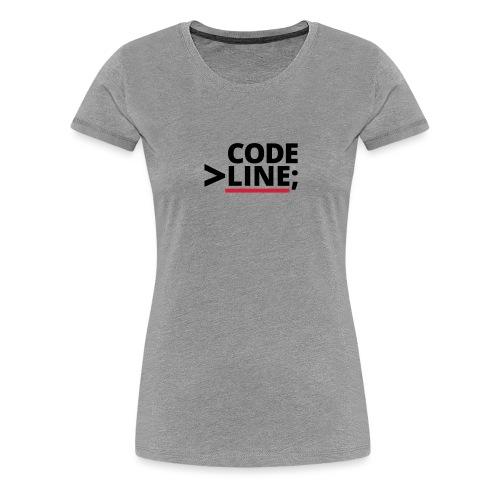 CodeLine - Frauen Premium T-Shirt