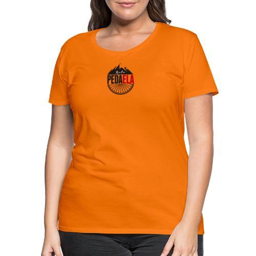 PEDAELA - Camiseta premium mujer