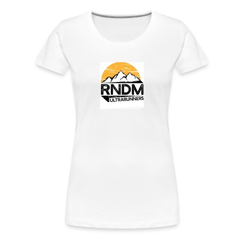 RndmULTRArunners T-shirt - Women's Premium T-Shirt