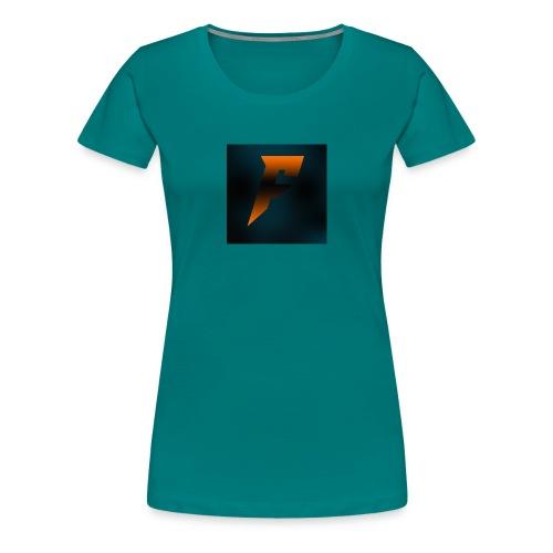 YoutubeLogo - Naisten premium t-paita
