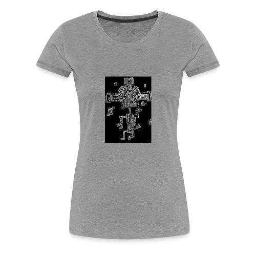 The Dancing Maya - Women's Premium T-Shirt