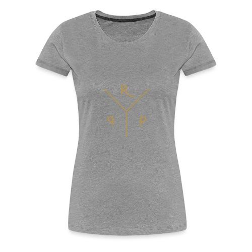 Triple Gold - Vrouwen Premium T-shirt